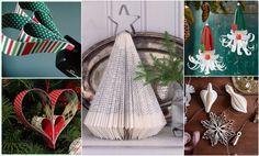 Vianočné dekorácie z papiera: Lacné, nápadité, úchvatné! Hanging Chair, Ladder Decor, Origami, Furniture, Home Decor, Decoration Home, Hanging Chair Stand, Room Decor, Origami Paper