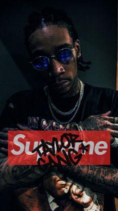 Wiz Khalifa x Supreme