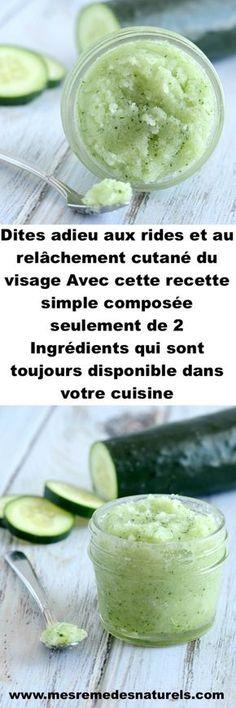 Dites adieu aux rides et au relâchement cutané du visage Avec cette recette simple composée seulement de 2 Ingrédients qui sont toujours disponible dans votre cuisine