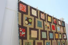 Diary of a Quilter - a quilt blog: Modern Quilt for an Old Friend