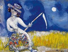 Marc Chagall - The Reaper, 1926