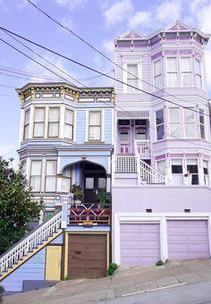 The magic that is San Francisco San Francisco Houses, San Francisco Travel, San Francisco California, San Francisco Bay, California Dreamin', San Francisco Architecture, San Francisco Union Square, San Francisco Victorian Houses, San Francisco Downtown