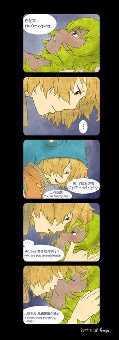 wakfu Short comic - kiss by a9971309