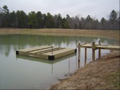 1000 images about floating docks on pinterest floating for Small pond dock plans