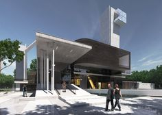 Urban Office Architecture's New Jersey church features sky chapel