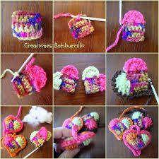 Resultado de imagen de los mejores corazones mas bonitos de crochet