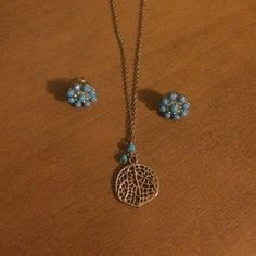 Francesca's Collections Jewelry - Francesca's earrings and necklace.