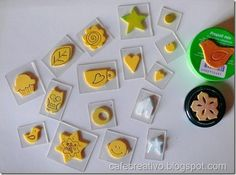 Come fare Timbri faidate - Homemade stamps