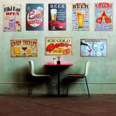 Plaque Beer Vintage Metal Tin Sign Wall Sticker Decoration In Beer Bar Home Wall Decor ART Poster Plate For Pub Coffee 30x20cm //Price: $7.49 & FREE Shipping //     #WallArt