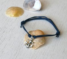 Anchor bracelet from etsy