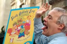 Robert Munsch reads all of his stories aloud on his official site!  I never read Robert Munsch to my kids.  I tell them I cannot do justice to his read-aloud amazingness!  They have to listen to him.