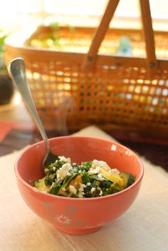 Sauteed Swiss Chard and Summer Squash is a quick and easy side dish for summer days that are full of fresh produce from the garden