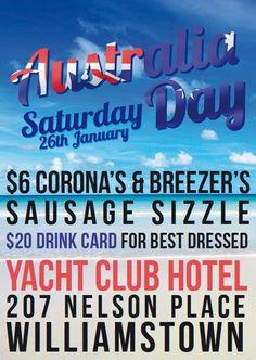 Australia Day Event Poster
