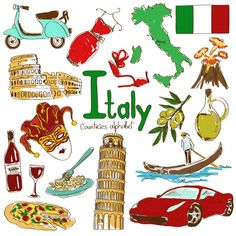 'I' is for Italy in the alphabetical countries worksheets! Learn all about Italy with this download. #geography #EuropeanCountries #Italy