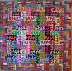 "Wild Geese quilt, 60 x 60"", by Tina Curran"