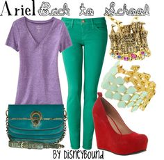 """Ariel"" by lalakay on Polyvore"