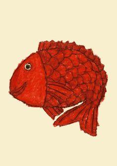 Big red fish!