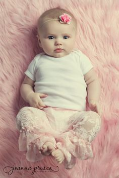 Pink Faux Fur Fabric Nest Newborns Baby Girls Photo Props Ready to Ship. $20.00, via Etsy.