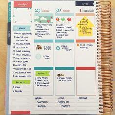 Cute and simple Erin Condren Life Planner spread. @erincondren Get $10 off your planner at https://www.erincondren.com/referral/invite/traciegreene1209