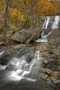 Whiteoak Falls Trail, Shenandoah National Park Virginia