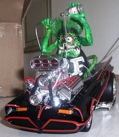 RAT FINK Custom Model. Be cool to have a few of these in my display case in the man cave