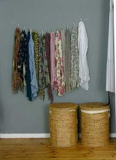 Image Detail For College Dorm Decor Scarf Storage Love It