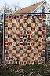 Battlefield Quilt Pattern   by Country Threads