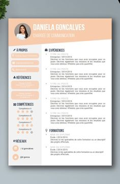 Discover recipes, home ideas, style inspiration and other ideas to try. Basic Resume Examples, Professional Resume Examples, Business Letter Example, Business Letter Template, Resume Design Template, Cv Template, Resume Templates, Beau Cv, Cv Curriculum