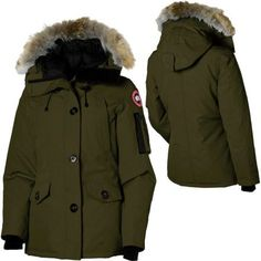 cheap canada goose montebello parka for women in black