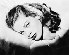 lauren bacall. My dad named me after her. My mom named me after a soap opera character. True Story :)