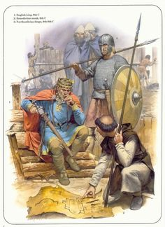 Anglo Saxon England comes to an end at the Battle of Hastings in 1066.