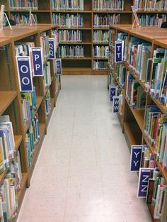 Library Signs and Posters, plus Shelf Signage, Labels and Holders from LibrarySkills.com