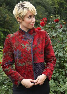 Mary Lynn O'Shea: Designer | Weaver | Warren Jacket