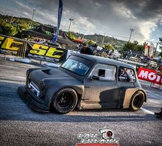 Mini Cooper Classic, Classic Mini, Mini Copper, Space Frame, American Racing, Karting, Wide Body, Mini S, Vintage Bikes