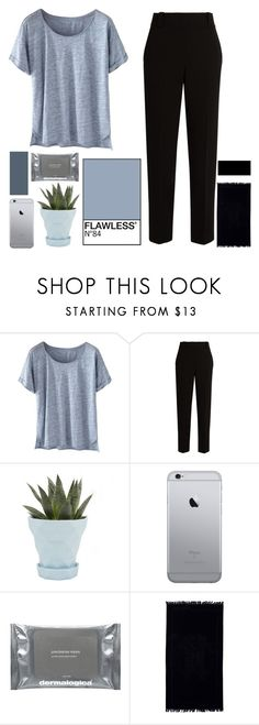 """""""SIMPLE DAYZ"""" by lil-believer-dreamer ❤ liked on Polyvore featuring Wrap, The Row, Chive, Dermalogica and Roberto Cavalli"""
