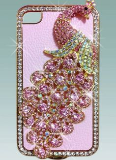 1x Luxury Designer Bling Crystal Pink Peacock on Pink Case for Apple Iphone 4 and 4s [Limited Edition] by yupy, http://www.amazon.com/dp/B007J7IKVI/ref=cm_sw_r_pi_dp_CvUZqb11SVT50