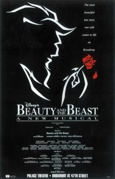 Beauty and the Beast the Musical Broadway Poster. I can't wait to see a actual Broadway show for the first time Theatre Plays, Theatre Nerds, Music Theater, Theatre Shows, Broadway Plays, Broadway Theatre, Broadway Shows, Musicals Broadway, Broadway Nyc