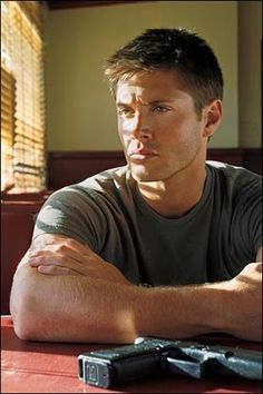 Jenson Ackles, This is where we hear our son Jensen's name for the first time....and it's our favorite show!!