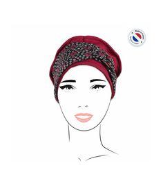 faf74a37c866 59 € - Bonnet foulard bambou - annabell marine   Women silk scarves    Pinterest   Marines