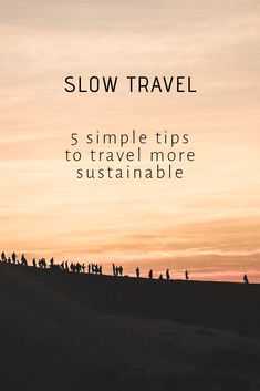 Slow travel - 5 simple tips to travel more sustainable All travel is an adventure, but some destinations offer more adventure than others. Get out there and savor the adventure at whatever level you choose. Travel Guides, Travel Tips, Travel Hacks, Travel Destinations, Travelling Tips, Travel Goals, Travel Packing, Travel Backpack, Africa Travel