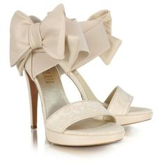 Sand Ankle Leather Bow Platform Sandal Shoes (920 BAM) ❤ liked on Polyvore featuring shoes, sandals, heels, scarpe, sapatos, platform heel sandals, sand shoes, heel platform shoes, heeled sandals and platform sandals