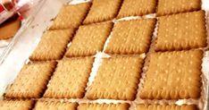 """Η Συνταγή είναι της κ. Εύη Ρουσσοπούλου- – """"ΟΙ ΧΡΥΣΟΧΕΡΕΣ / ΗΔΕΣ"""".    ΥΛΙΚΑ  1 morfat τενεκεδένιο κουτάκι  1 ζαχαρούχο γάλα  1 εβαπορέ Νουνού μικρό  1 κουβερτούρα 125gr  2 κ.σ. κακάο (προαιρετικά)  2 πακετάκια μπισκότα πτι μπερ με σοκολάτα γάλακτος    ΕΚΤΕΛΕΣΗ    Όλα τα υλικά να Cornbread, Ethnic Recipes, Food, Millet Bread, Essen, Yemek, Meals"""