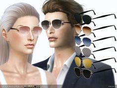 The Sims Resource: Technologic Sunglasses by toksik • Sims 4 Downloads