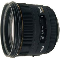 Sigma 50mm f/1.4 EX DG HSM Auto Focus* Lens for Maxxum & Sony Alpha Mount. (*Auto Focus only if body supports HSM) - USA Warranty by Sigma. $449.00. The Sigma 50mm f/1.4 EX DG HSM Autofocus Lens is a standard lens that provides a large maximum aperture of f/1.4. It is the ideal prime lens for use with all Canon digital or film SLR cameras. When used on Canon digital SLR cameras with the APS-C size sensor, the equivalent focal length of this lens will be 80mm, wh...