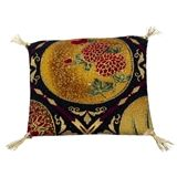 """""""Earth and Sky"""" Art Deco Pillow"""
