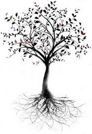 Afbeeldingsresultaat voor leg tattoo tree roots foot