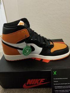 Details about Nike Men s Air Jordan 1 Retro Shattered Backboard Sneakers - Size  10.5 US 4e76a077d