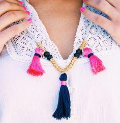 darby-smart-justina-blakeney DIY tassel necklace