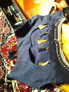 Blouse Patterns, Blouse Designs, Raw Silk Lehenga, Fashion Blouses, Blouse Styles, Printed Blouse, Bomber Jacket, Embroidery, Prints