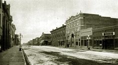 Empress Theatre on Second Street between Ivinson and University, circa 1913. (The building to the right is now home to the Cowboy Bar).
